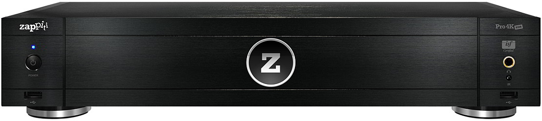 Zappiti Pro 4K HDR High-End Universal Media Player Front